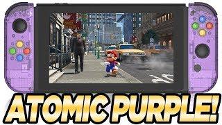 ATOMIC PURPLE Nintendo Switch Joy-Con Mod DIY | Austin John Plays