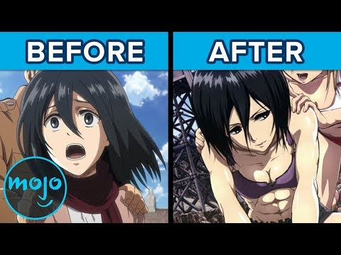 Top 10 Anime Characters Who Got RIPPED (ft. Todd Haberkorn)