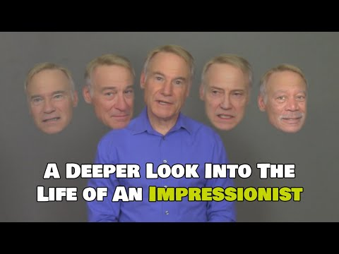 A professional IMPRESSIONIST joins forces with a DEEPFAKE artist. Just. Wow.