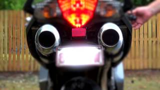 VFR 800 With Delkevic SS70 Pipe Installed