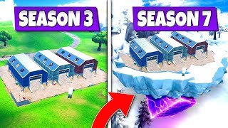*NEW* CLASSIC DUSTY DEPOT *RETURNS* TO FORTNITE SEASON 7! ICONIC LOCATIONS REMADE!: BR