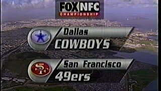 1994 NFC Championship Cowboys vs 49ers Fox intro