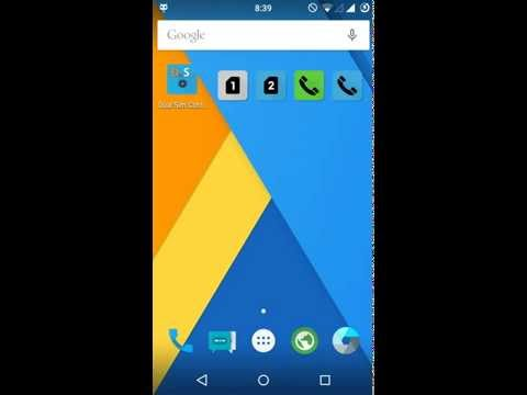 Video of Dual SIM Control (free)
