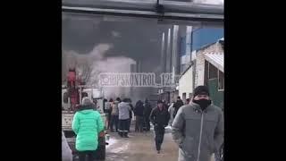 На вертолетном заводе «Прогресс» в Арсеньеве произошел пожар