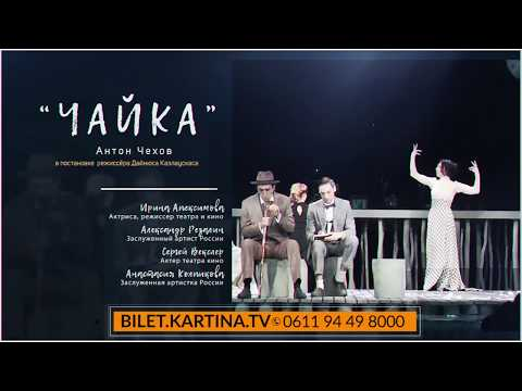 Московский театр на Таганке. Спектакль «Чайка»