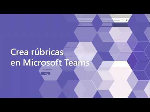Microsoft Teams: Crea rúbricas