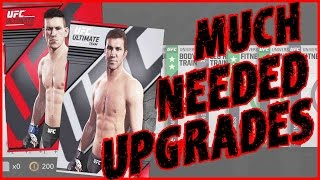 MUCH NEEDED UPGRADES!! - UFC 2 Pack Opening