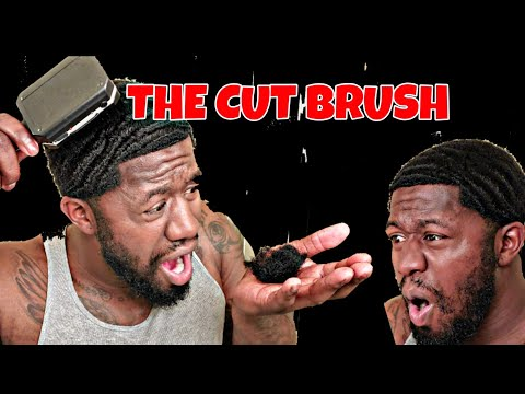 HOW TO CUT 360 WAVES NO BARBER NEEDED| THE CUT BRUSH