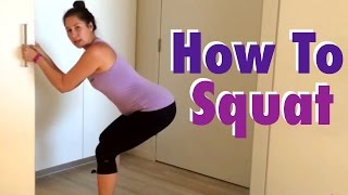 How to Squat for a Healthy Pelvic Floor: Pregnancy Safe Squatting