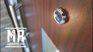 Digitalen Türspion selbst montieren !
