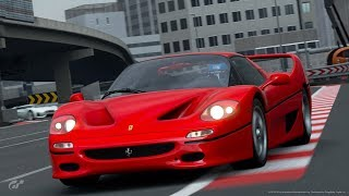 Gran Turismo Sport   Ferrari F50 @ Tokyo Expressway
