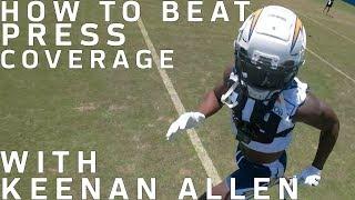 Keenan Allen Uses GoPro to Teach How to Break Press Coverage   NFL
