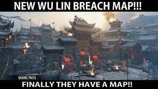 For Honor - NEW Wu Lin Breach Map!! FINALLY THEY HAVE A MAP!!