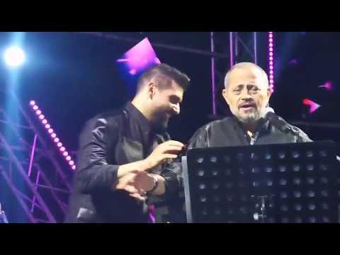"""آدم يقبل يد جورج وسوف على المسرح في مهرجان """"قرطبة"""""""