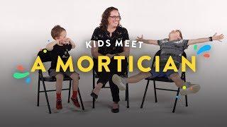 Kids Meet a Mortician | Kids Meet | HiHo Kids