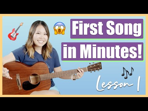 Guitar Lessons for Beginners: Episode 1 - Play Your First Song in Just 10 Minutes! 🎸