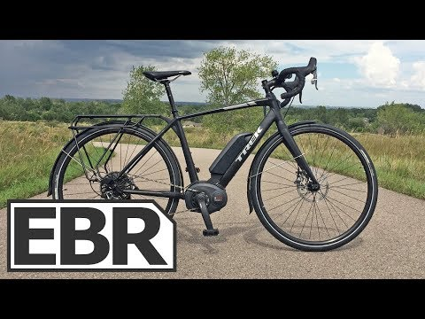 Trek CrossRip+ Video Review – $4.5k Electric Road Bike, 28 MPH, Gravel Grinder, Touring Platform