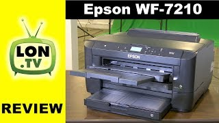 Epson Workforce WF-7210 Wide Format Color Inkjet Printer Review