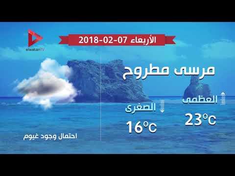 تعرف على حالة الطقس اليوم الأربعاء 7 فبراير