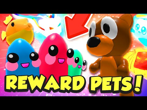 GETTING EVERY INDEX REWARD PET... almost... in Roblox Bubble Gum Simulator!