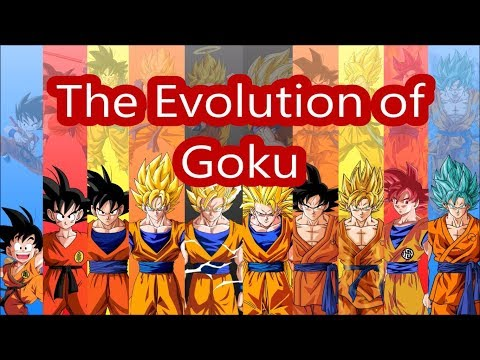 The Evolution of Goku   All Goku's Transformations   From 1986 to Now