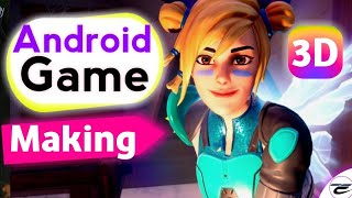 How To Make a 3D Game On Android | How to make your own Android Game