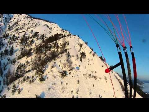 Snežna pobočja Kamniškega vrha