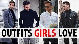 4 Outfits Men Wear That Women Love | What Girls Want Guys To Wear | Alex Costa & Jake Daniels