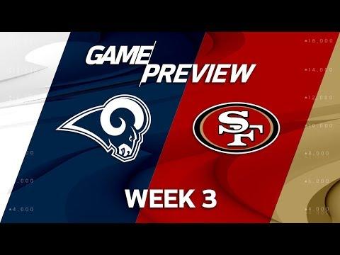 Los Angeles Rams vs. San Francisco 49ers | Week 3 Game Preview | NFL Playbook