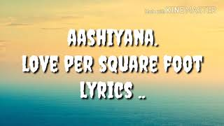 Aashiyana Lyrics