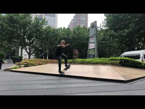Ryan Clements in Shanghai