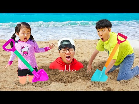Boram and dad are going to relax at sea