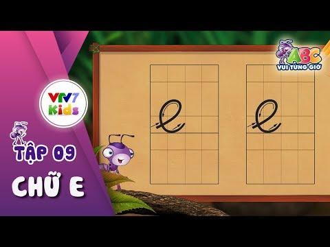 """Bé cùng học chữ """"e"""""""