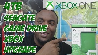 Seagate Game Drive for Xbox One 4TB Green Unboxing