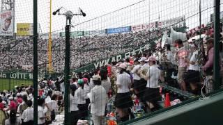 2014夏の甲子園 静岡高校の応援 ライトオン~シリウス
