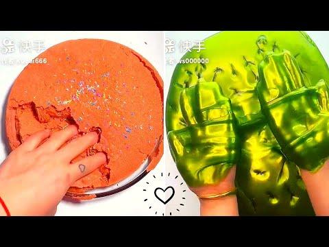 Crunchy Slime ASMR Compilation # 2  Crunchy Slime  Satisfying Slime ASMR Video Compilation