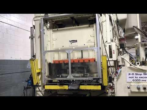 250 ton Niagara SC2-250-60-36 Straight Side Press