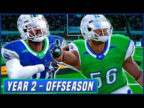 YEAR 2 OFFSEASON LIVESTREAM! - NCAA Football 14 Dynasty | Ep.34