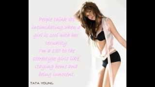 Tata Young - Sexy, Naughty, Bitchy Me Lyrics