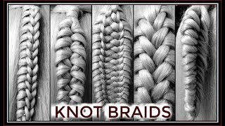 LEARN 5 EASY UNIQUE KNOT BRAIDS  / HairGlamour Styles /  BRAID HAIRSTYLES