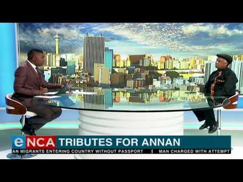 Advocate Dumisa Ntsebeza on working closely with Kofi Annan