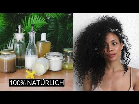DIY 100% natürliche Haarpflege • Afrolocken Essentials
