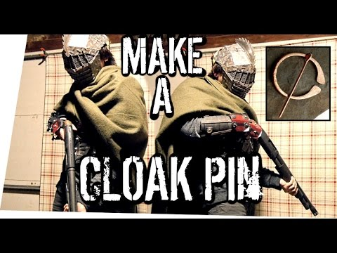 How to Make a Cloak Pin MINI BUILD! (Penannular Brooch)