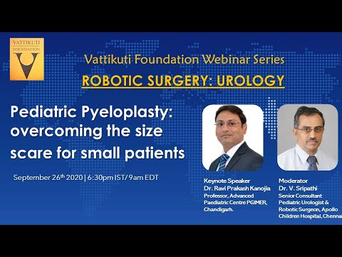 Pediatric Pyeloplasty- overcoming the small size scare for small patients