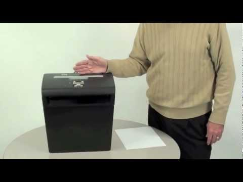 Video of the Fellowes Powershred P-48C Shredder
