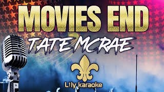 Tate McRae   Movies End (Karaoke Version)