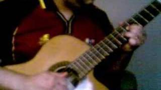 classic guitar, intro of Fate Speaks by Explorer's Club