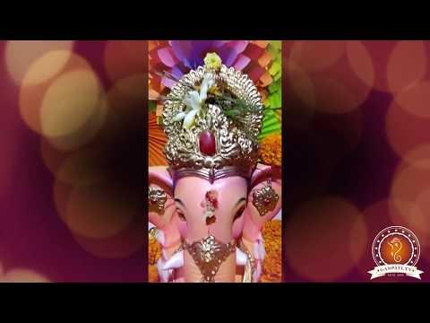 Ram Pawar Home Ganpati Decoration Video