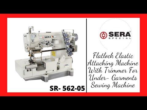 Chain Stitch Elastic Attaching Machine with Auto Trimmer