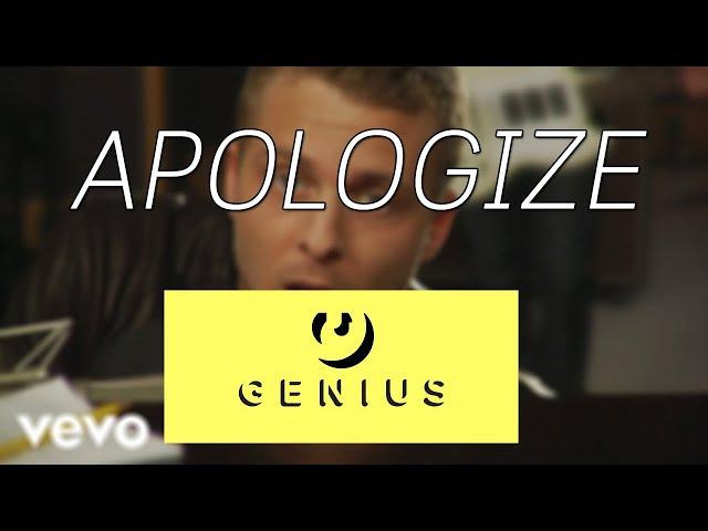 เรียนภาษาอังกฤษจากเพลง : APOLOGIZE - ONE REPUBLIC